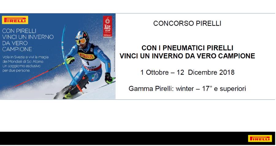 concorso pirelli 2018